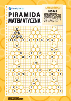 Piramida matematyczna: poziom 8