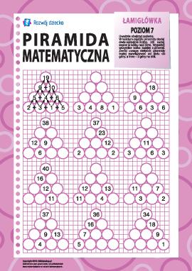 Piramida matematyczna: poziom 7