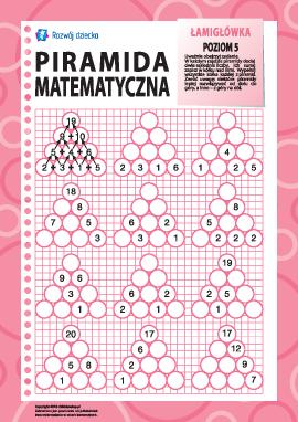 Piramida matematyczna: poziom 5