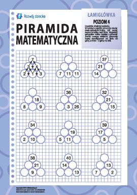 Piramida matematyczna: poziom 4