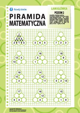 Piramida matematyczna: poziom 2