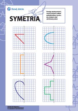Uczymy się symetrii: nr 2