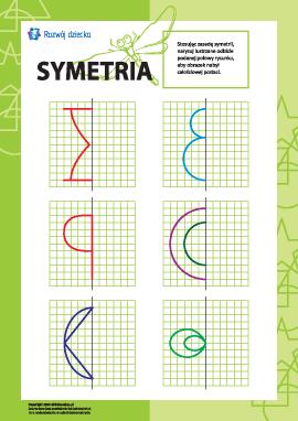 Uczymy się symetrii: nr 4
