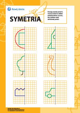 Uczymy się symetrii: nr 5
