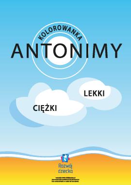 Pokoloruj antonimy (język polski)