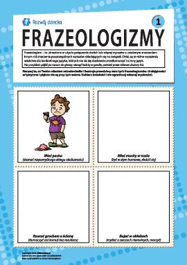 Frazeologizmy nr 1 (język polski)