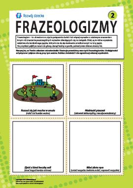 Frazeologizmy nr 2 (język polski)