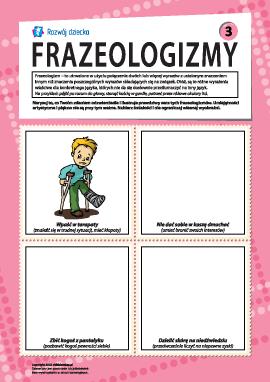 Frazeologizmy nr  3 (język polski)