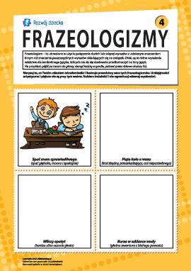 Frazeologizmy nr 4 (język polski)