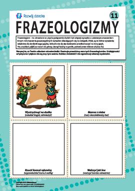 Frazeologizmy nr 11 (język polski)