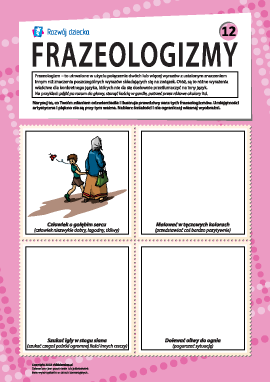 Frazeologizmy nr 12 (język polski)