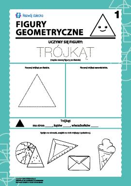 Figury geometryczne: badamy trójkąt