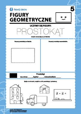 Figury geometryczne: badamy prostokąt