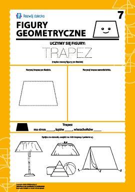 Figury geometryczne: badamy trapez