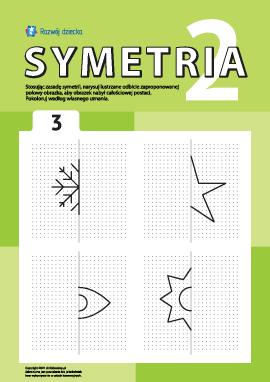 Poznajemy symetrię zgodnie z punktami nr 3