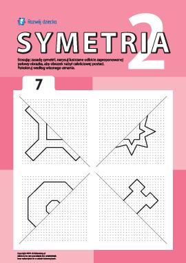 Poznajemy symetrię zgodnie z punktami nr 7
