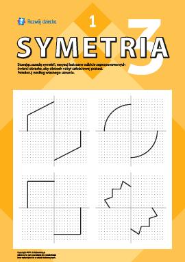Poznajemy symetrię lustrzaną nr 1