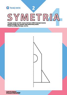 Uczymy się rysować symetrycznie nr 2