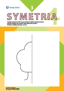 Uczymy się rysować symetrycznie nr 3