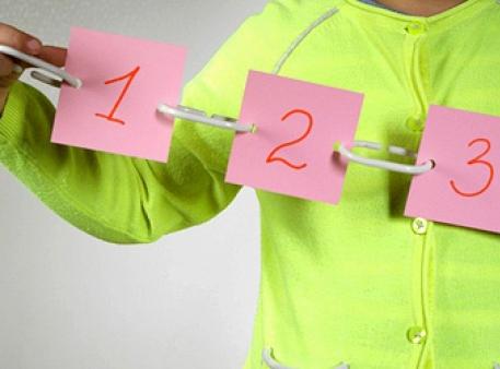 Zbieramy łańcuch z liczbami w określonej kolejności