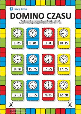 Domino czasu: uczymy się bawiąc