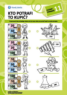 Uczymy się liczyć pieniądze nr 11