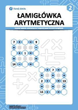 Łamigłówka arytmetyczna nr 2