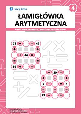 Łamigłówka arytmetyczna nr 4