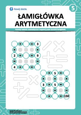 Łamigłówka arytmetyczna nr 5