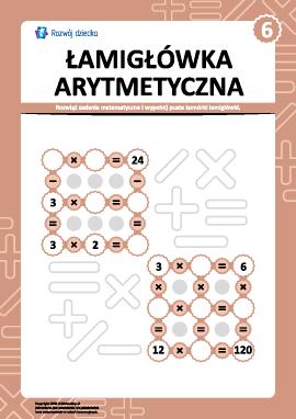 Łamigłówka arytmetyczna nr 6