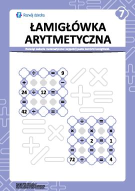 Łamigłówka arytmetyczna nr 7