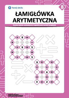 Łamigłówka arytmetyczna nr 8