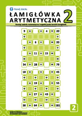 Łamigłówki arytmetyczne nr 2