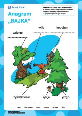 "Anagram ""Bajka"""