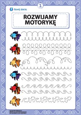 Rozwijamy umiejętności motoryczne i koordynację nr 1