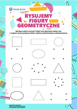 Rysujemy i uczymy się figur geometrycznych