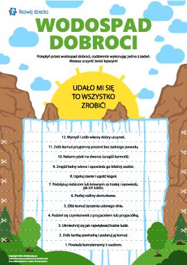 Wodospad dobroci: robimy dobre uczynki