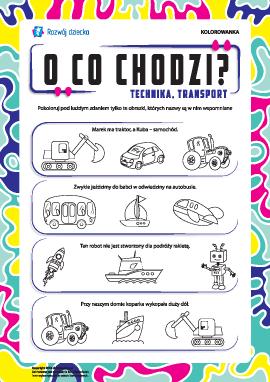 O czym mowa nr 4: technika motoryzacyjna, środki transportu