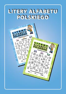 Litery alfabetu polskiego