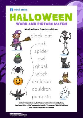 """Słowa i obrazy: """"Halloween"""" (w języku angielskim)"""