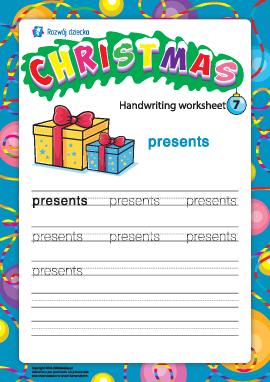 Słowniczek bożonarodzeniowy: presents