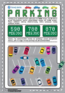 Parking: obliczamy ilość miejsc