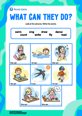 Uczymy się czasowników (język angielski)