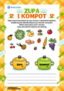 Zupa i kompot: wybieramy artykuły żywnościowe