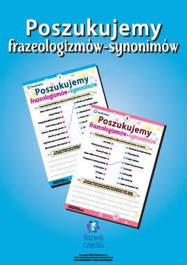 Poszukujemy frazeologizmów-synonimów (język polski)