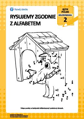 Rysujemy zgodnie z alfabetem nr 2