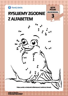 Rysujemy zgodnie z alfabetem nr 3