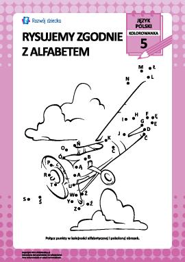 Rysujemy zgodnie z alfabetem nr 5