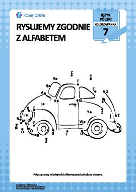 Rysujemy zgodnie z alfabetem nr 7