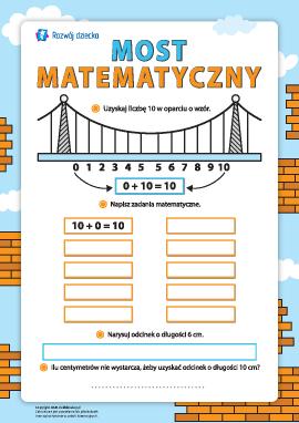 Most matematyczny: skład liczby 10
